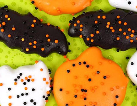 Halloween Circus Animal Cookies