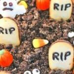 Halloween Graveyard Cheesecake Dip – 30 Days of Halloween 2017: Day 21