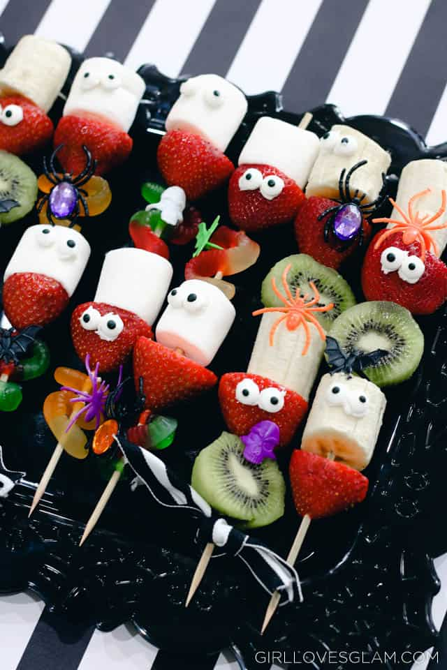 Halloween Fruit Skewers