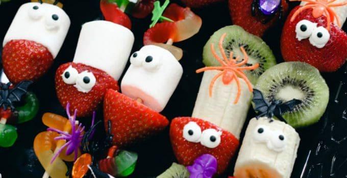 Halloween Fruit Skewers