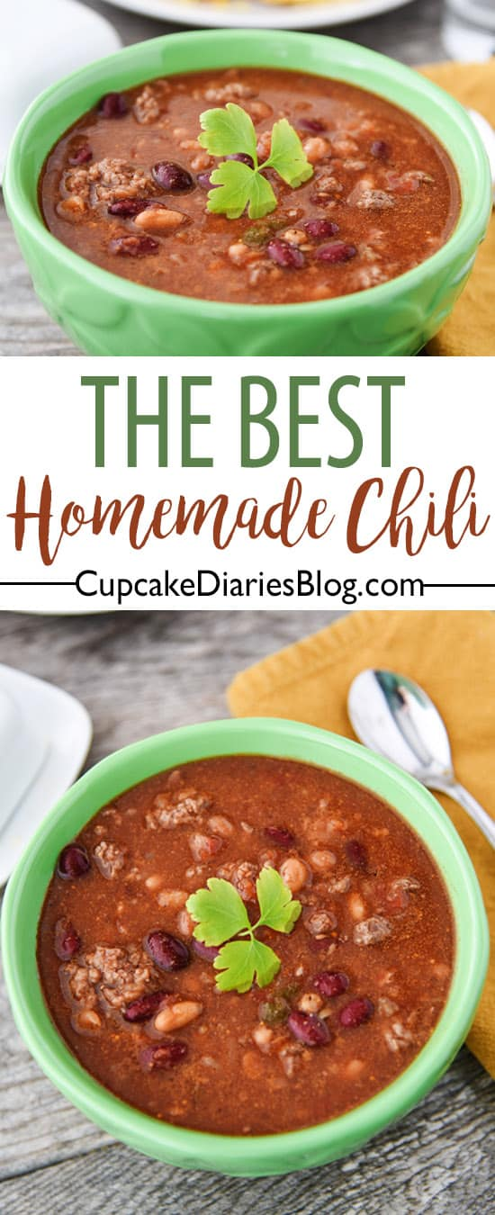 The Best Homemade Chili Recipe