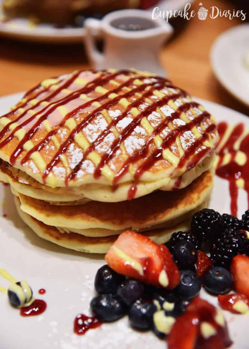 """Signature Berry Bliss"" Pancakes from Wildberry"