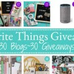 Favorite Things Giveaway 2017