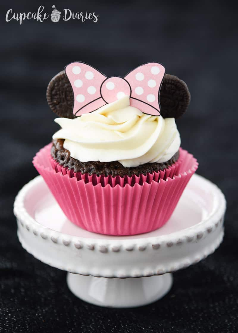 Mickey and Minnie Cupcakes