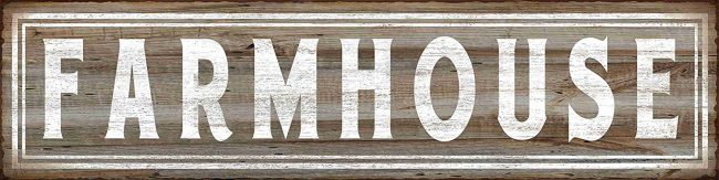 Farmhouse Retro Vintage Tin Bar Sign