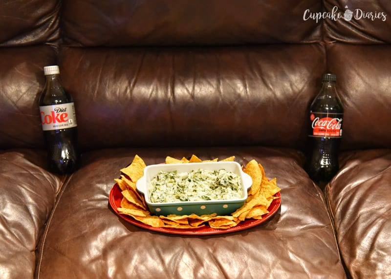 Snacking with Coca-Cola