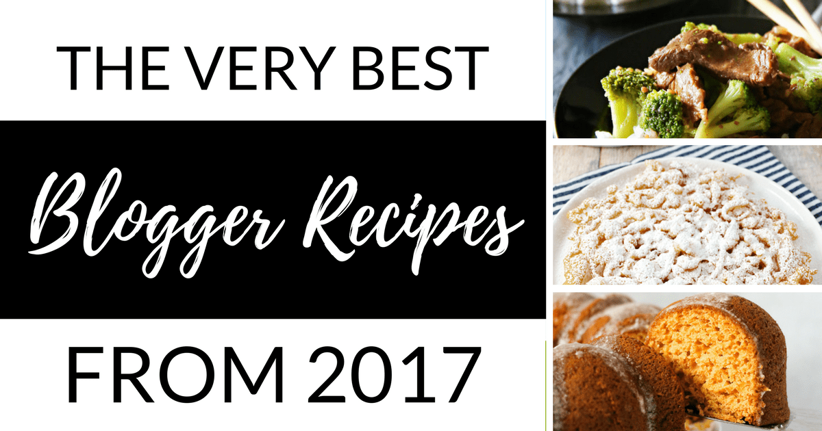 The very best blogger recipes from 2017 forumfinder