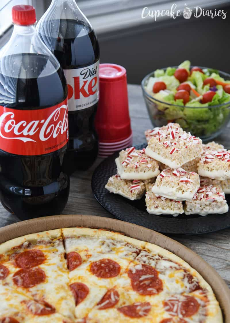 WinCo Pizza and Coca-Cola 2 Litters for Dinner