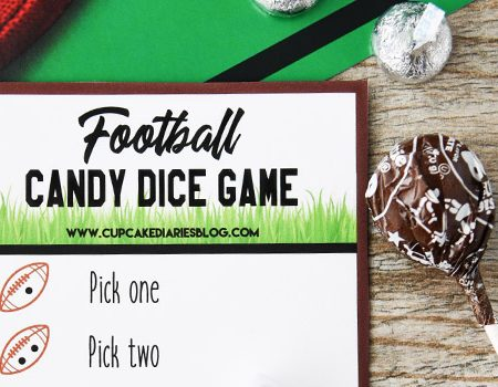 Football Candy Dice Game
