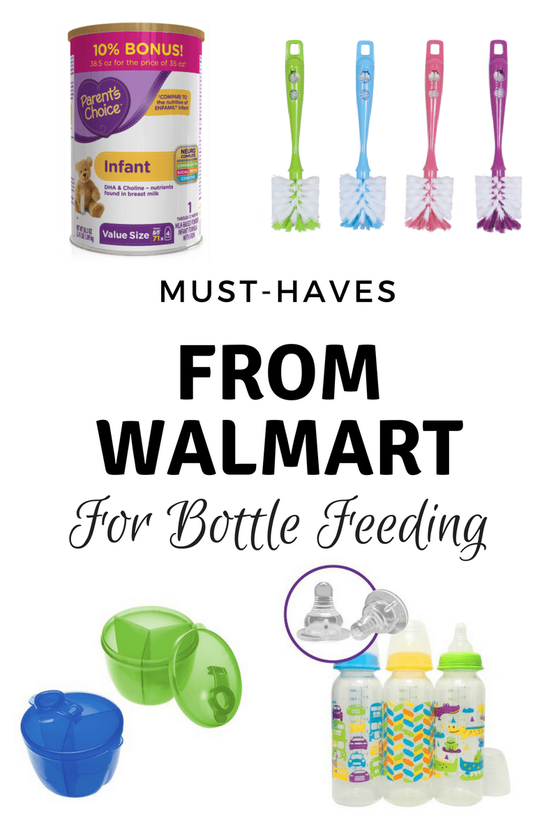 Must-Haves from Walmart for Bottle Feeding
