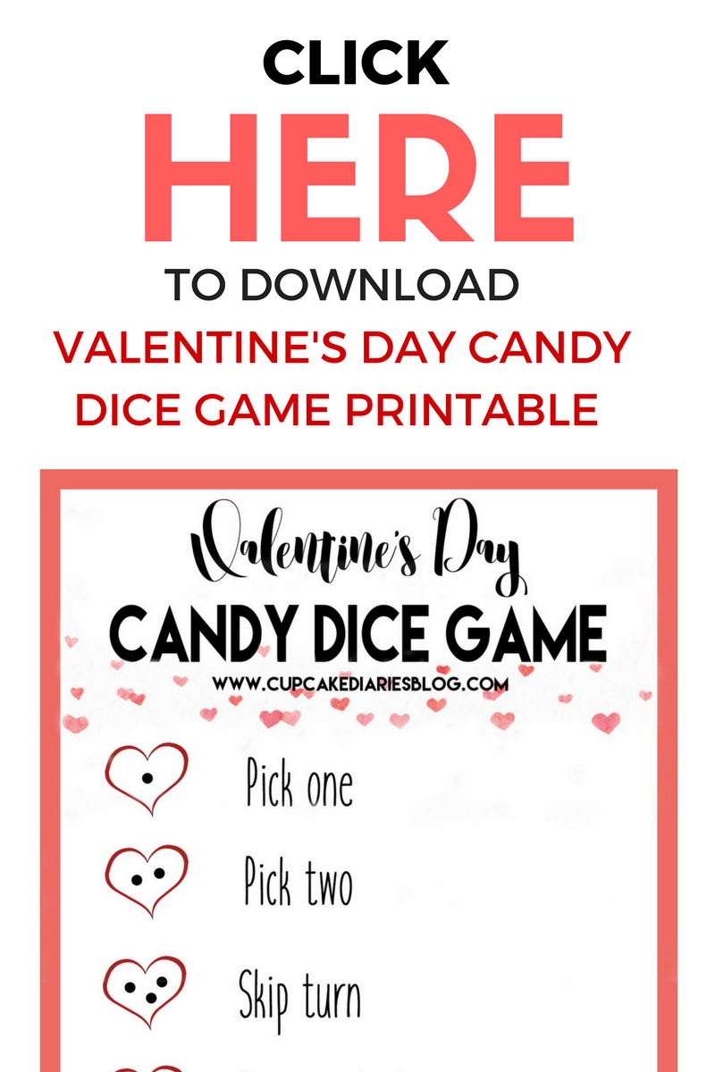 valentines day candy dice game crossword valentines day