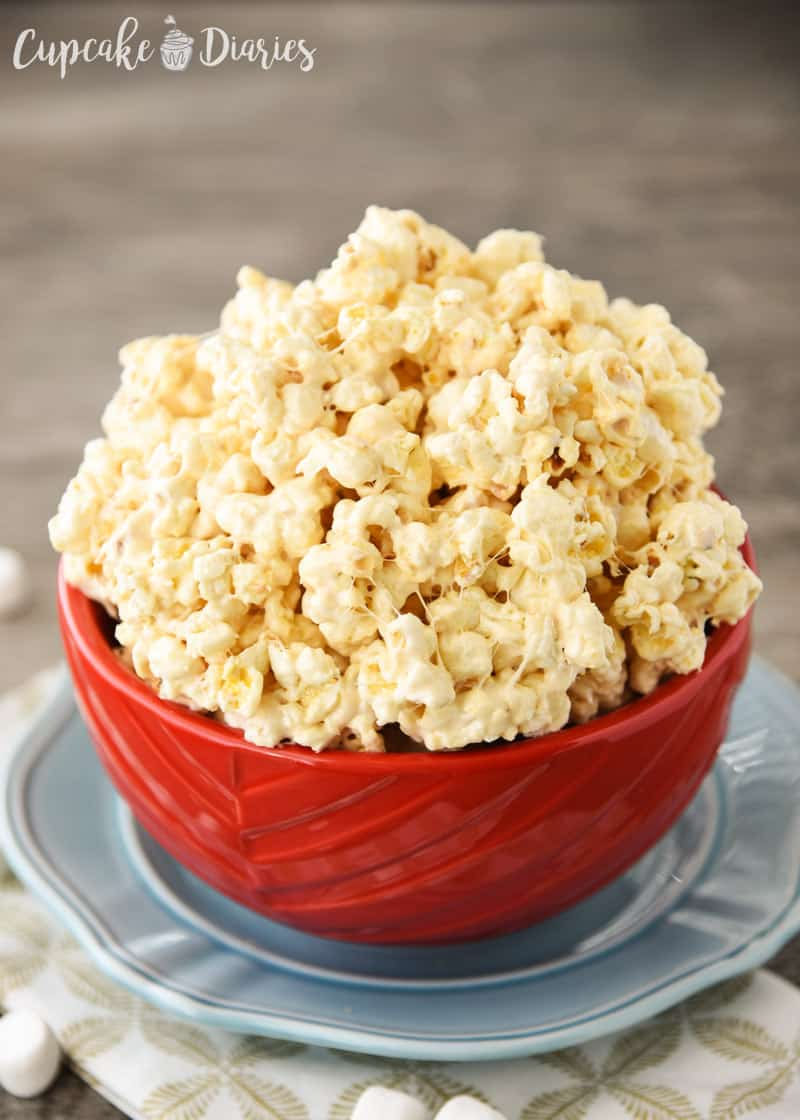 All you need for a relaxing night in is a blanket, your favorite TV show, and this bowl of The Best Caramel Popcorn Ever! You'll agree with me when you make it. It's amazing!