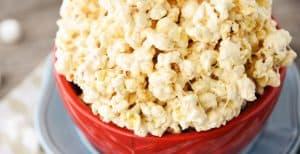 The Best Caramel Popcorn Ever