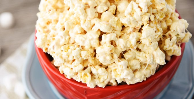 The Best Caramel Popcorn Ever