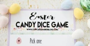 Easter Candy Dice Game