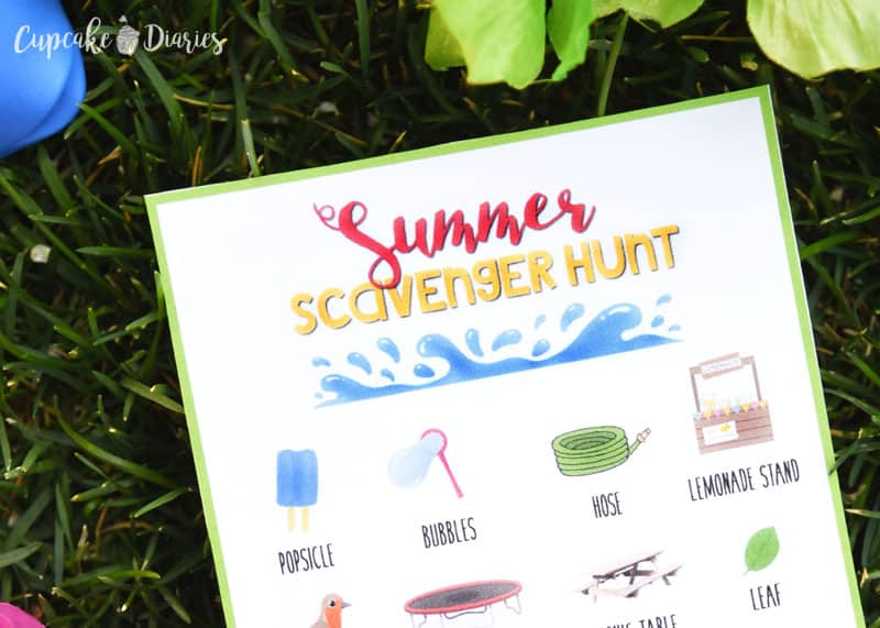 Send the kids outside with this Summer Scavenger Hunt! They'll love searching the neighborhood for all the objects on the list.