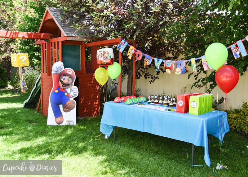 All the ideas you need for an entire Super Mario Bros. birthday party!