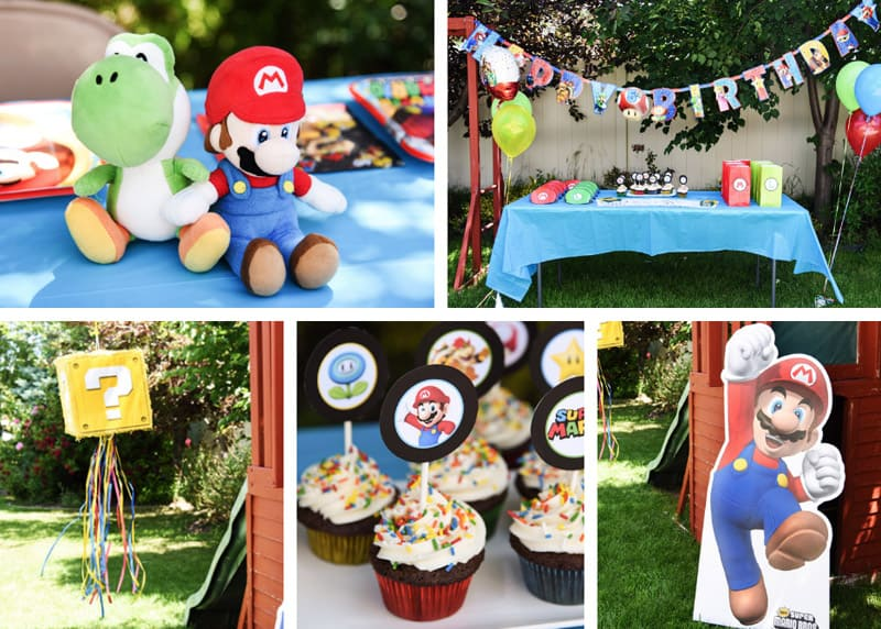 Your Super Mario Bros. party can come together so easily with these party ideas!