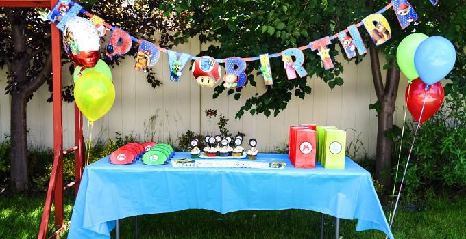 If your kids request a Super Mario Bros. birthday party, look no further for ideas! Everything you need is here in one post, including free printables!