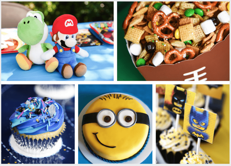 Birthday party ideas for a six-year-old boy