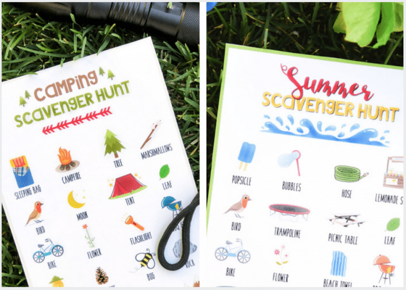 Scavenger hunts for kids to enjoy this summer!