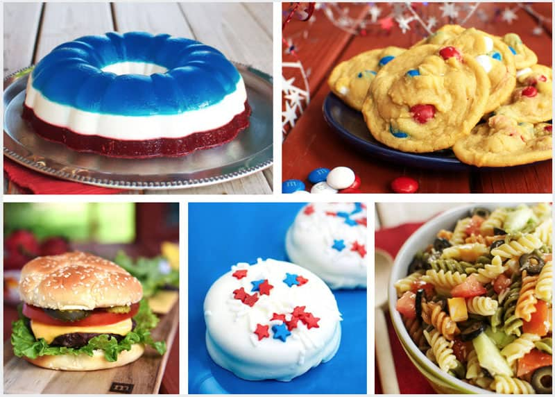 Five recipe ideas for your Fourth of July BBQ!