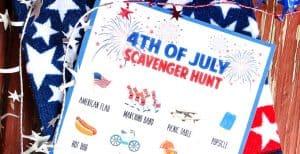 Fourth of July Scavenger Hunt for Kids