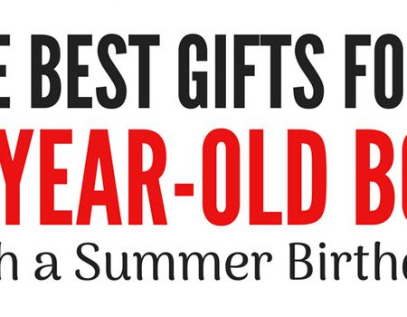 Water guns, walkie talkies, and other great gifts for a six-year-old boy with a summer birthday!