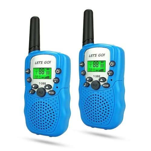 Every kid needs a set of walkie talkies to play with friends! Perfect gift for a summer birthday.