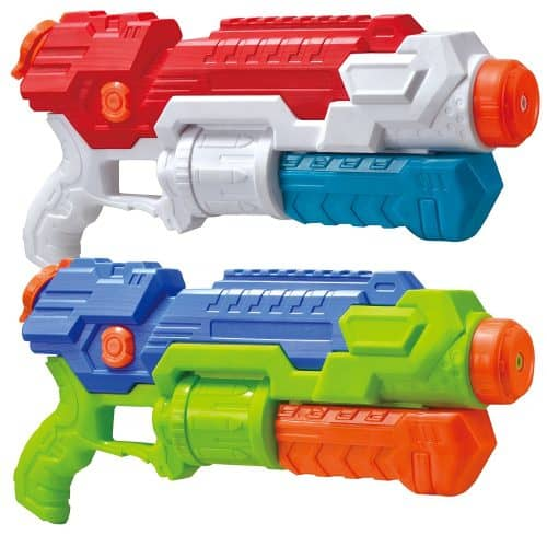 Nothing says summer fun like water guns! Perfect gift for boys. Perfect gift for a summer birthday.