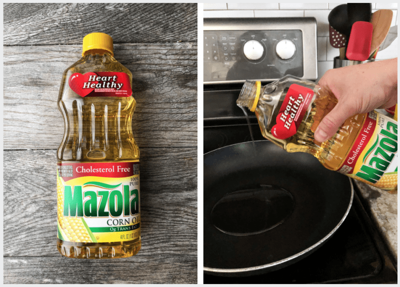 Mazola Corn Oil is a great option for healthier cooking!