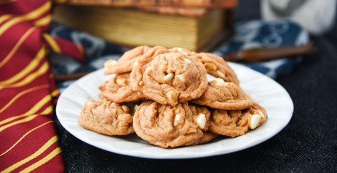 Harry Potter Butterbeer Cookies Recipe