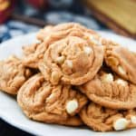 Butterbeer is a must for any Harry Potter event, and Butterbeer Cookies are the perfect dessert! These cookies have big butterbeer flavor in every bite.