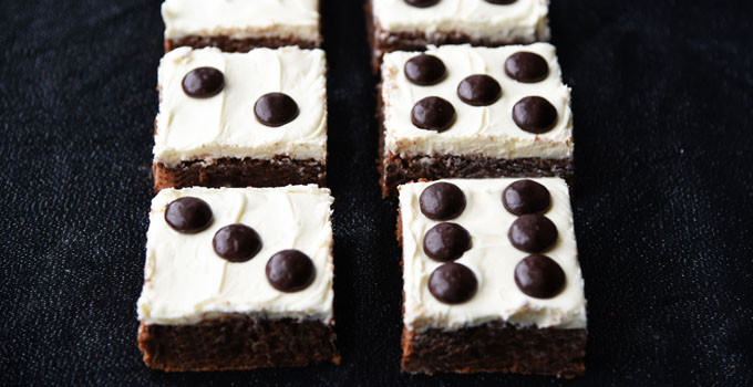 Dice Brownies Bunco Dessert Recipe