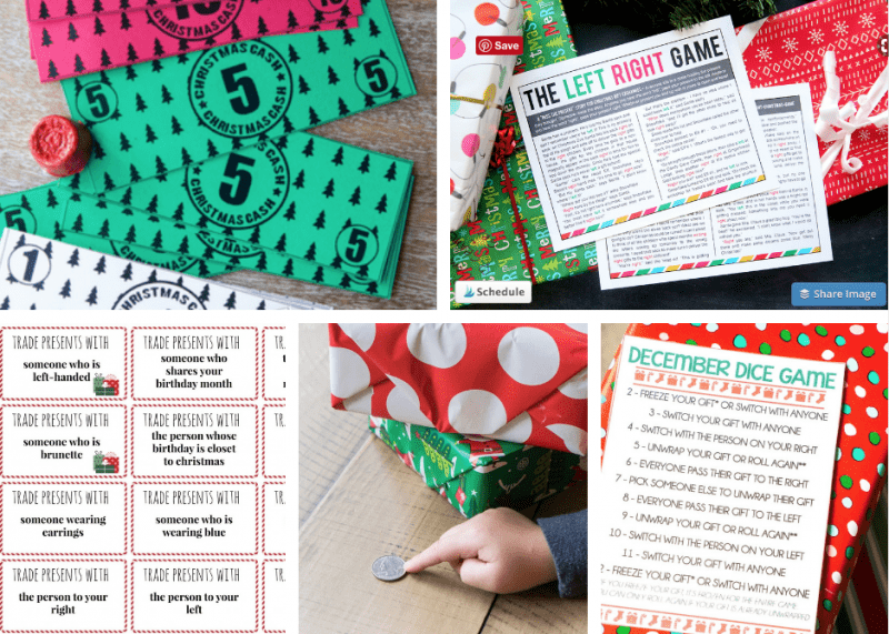 Christmas gift exchange game ideas for your holiday party!