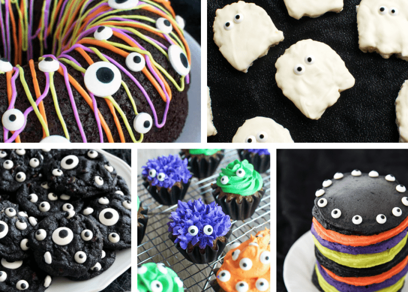 Halloween Recipes with Candy Eyeballs