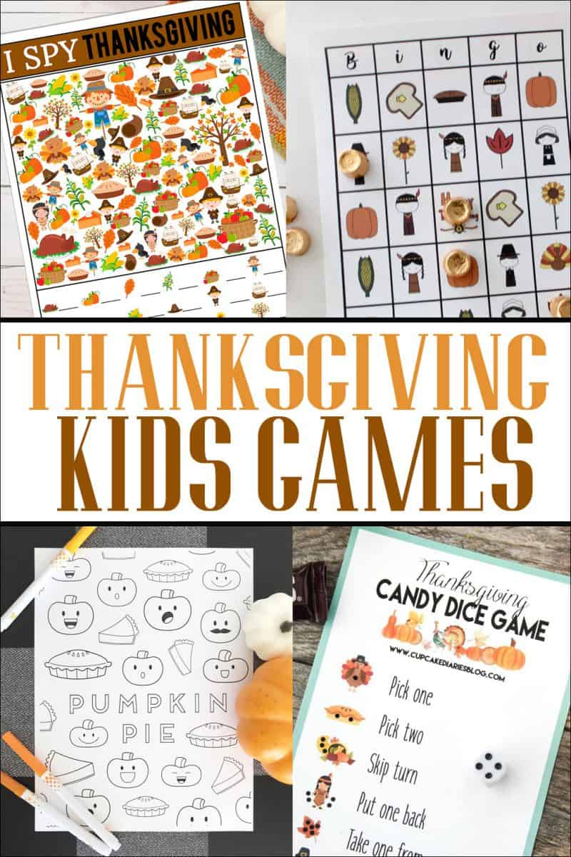 Four games to play this Thanksgiving while they're waiting for dinner or after they've finished eating!