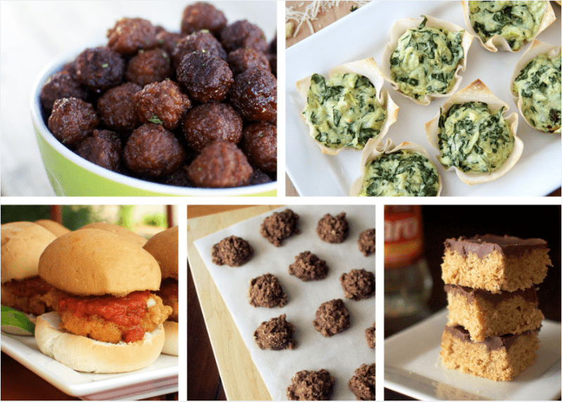 Great recipes for a Bunco night! All of these recipes are so easy and yummy.