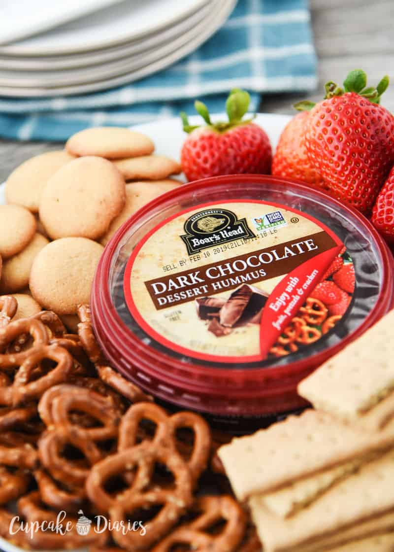 Boar's Head makes delicious dessert hummus, like Dark Chocolate!