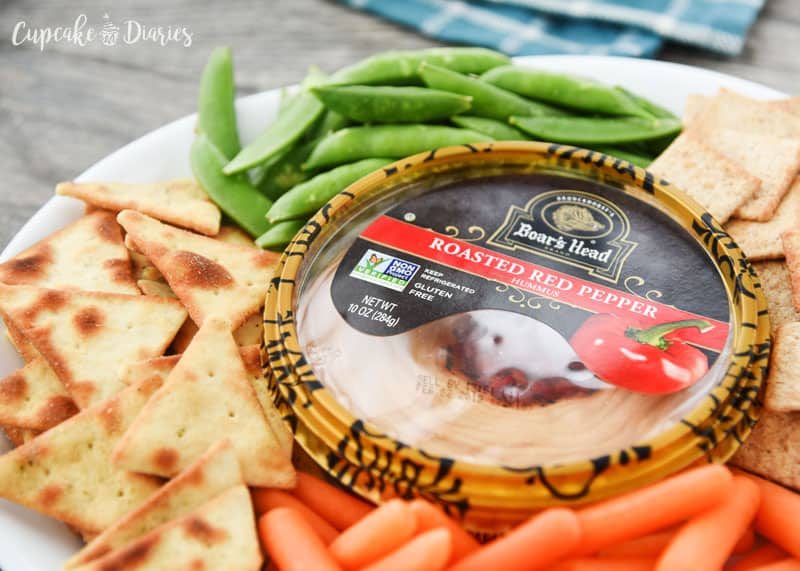 Boar's Head Hummus is the best hummus for easy entertaining!