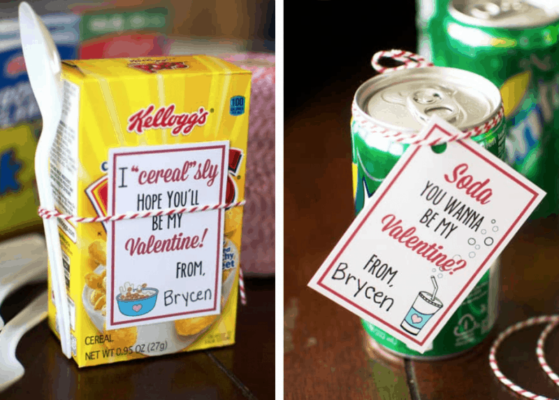 Two valentines that are great for preschoolers!