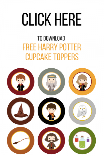 Harry Potter Cupcake Toppers Download