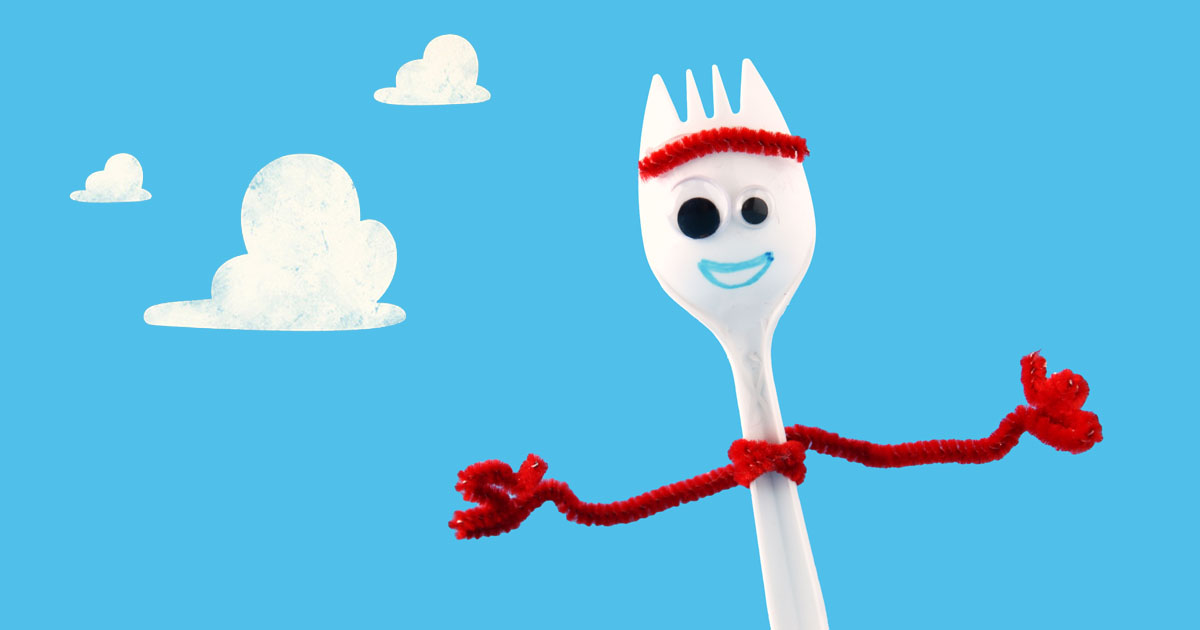 How To Make Forky From Toy Story 4 Craft Tutorial