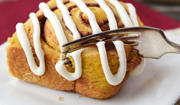 Great breakfast idea for Thanksgiving! They're so much easier than classic cinnamon rolls.