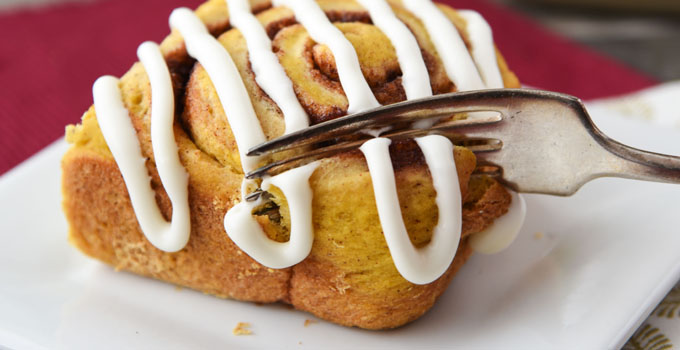 Pumpkin Cinnamon Rolls with Cream Cheese Frosting for Beginners Recipe