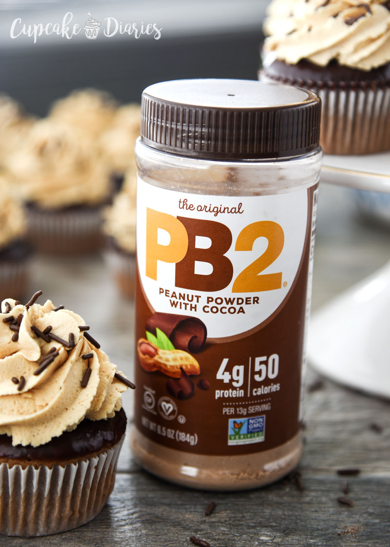 PB2 Peanut Powder with Cocoa is perfect for adding to desserts!