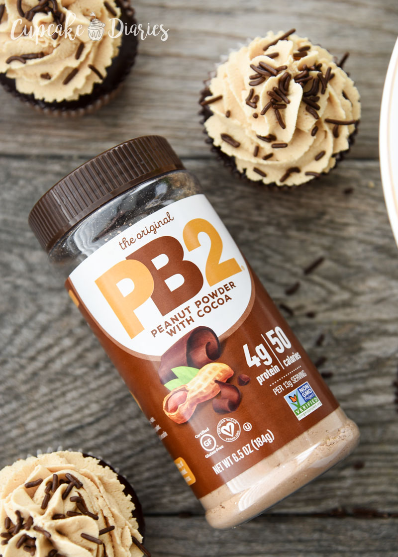 PB2 Powdered Peanut Butter with Cocoa - Great for baking!