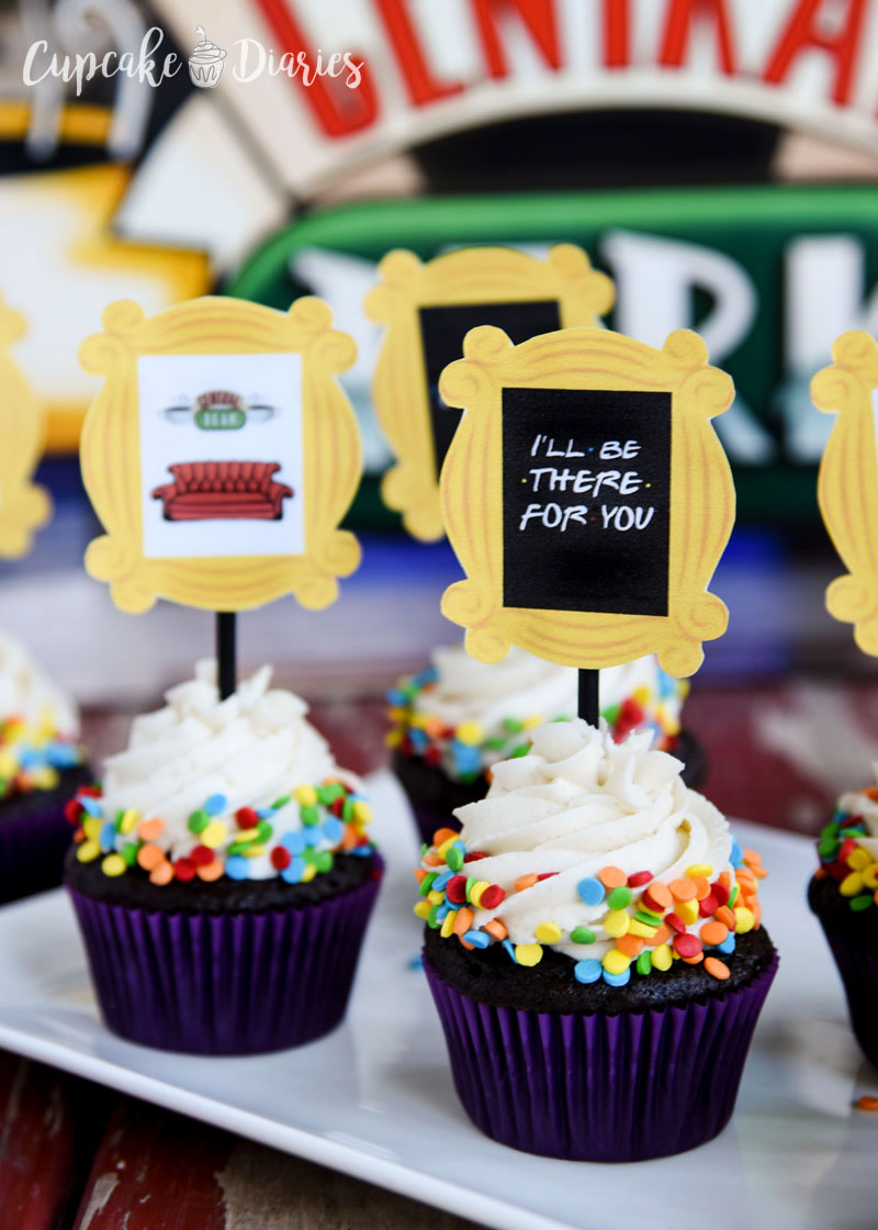 Celebrate the best TV show with these cupcakes and toppers! Free download!