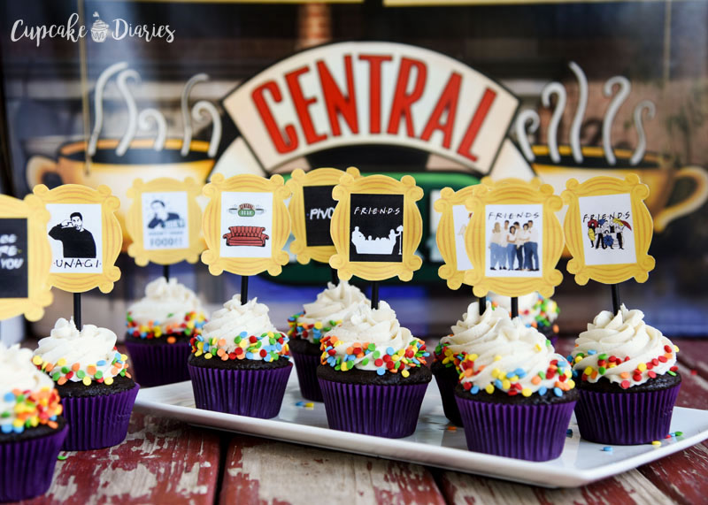 I have no doubt they would have served these cupcakes at Central Perk.