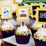 Friends TV Show Cupcakes and Toppers are so great for a Friends party of any kind! Could those printable toppers be any cuter?